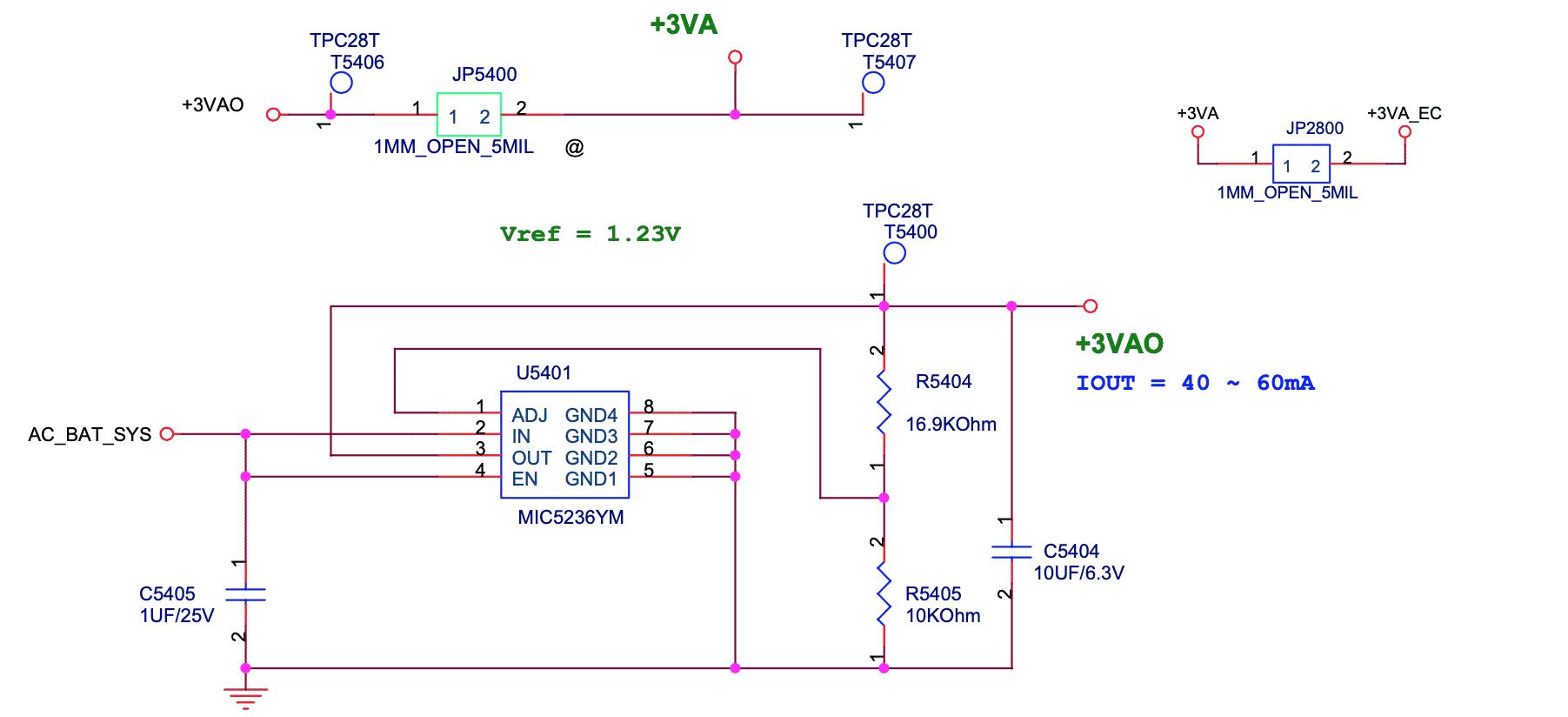схема линейного стабилизатора MIC5236YM