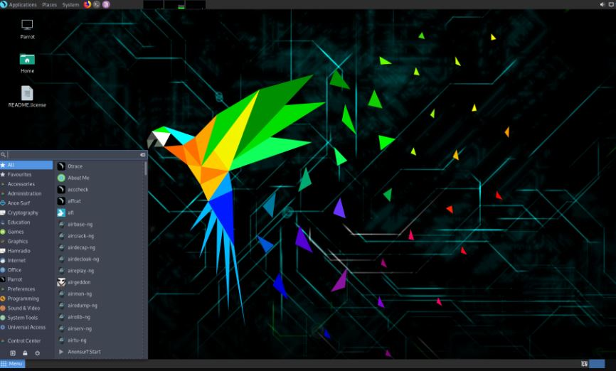 Parrot Security OS Linux