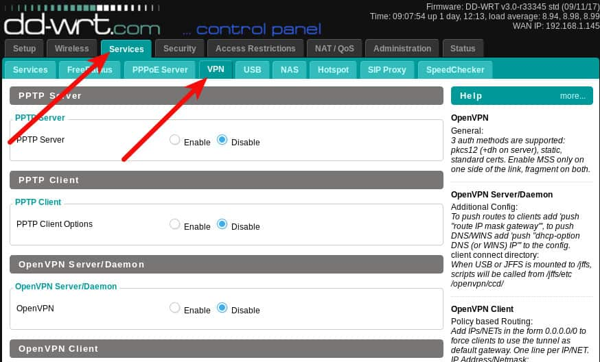 Настройка маршрутизации openvpn сервера как купить хостинг на самп