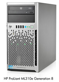 HP ML310e gen8