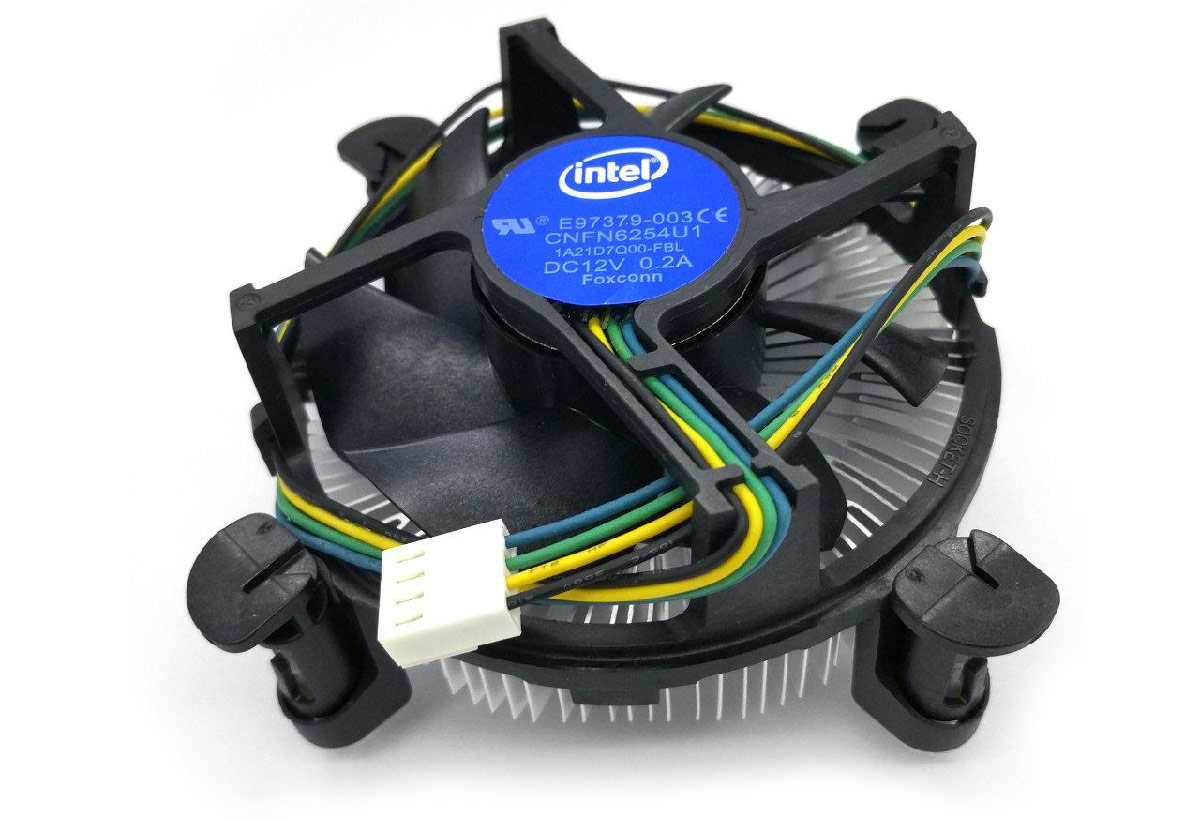 Intel PWM 4pin CPU cooler