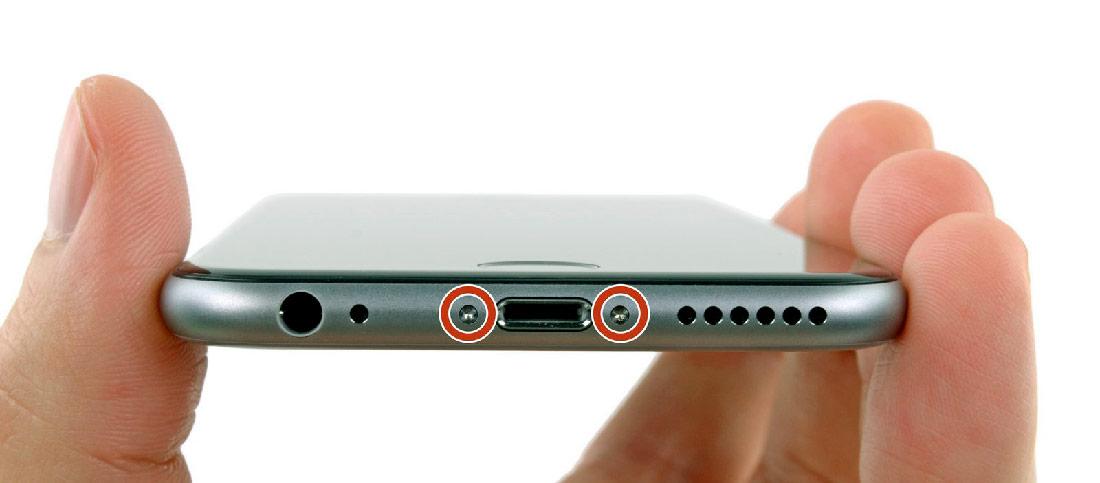 как снять аккумулятор iPhone
