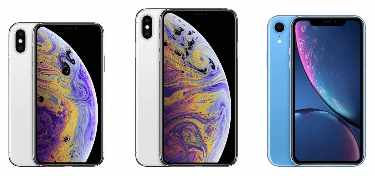 iPhone XR, iPhone XS и XS Max