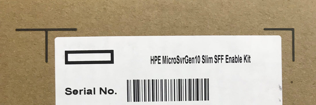 HPE 870212-B21 MicroServer Gen10 Slim SFF Enable Kit