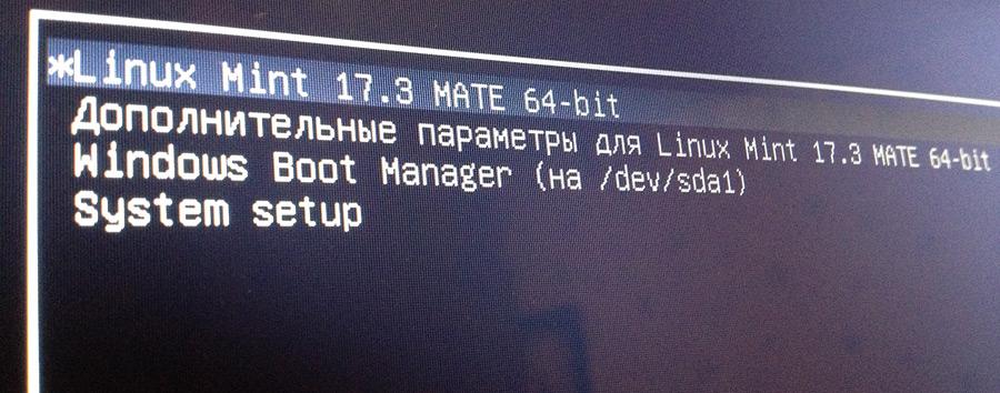 Установка Linux второй системой с Windows 8