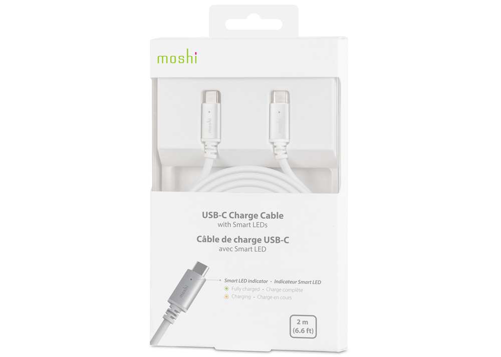 Moshi USB-C Charge Cable Silver