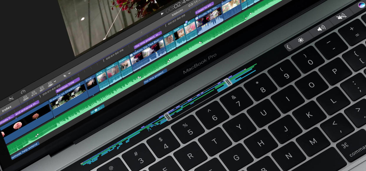 сенсорный Touch Bar Macbook Pro 13